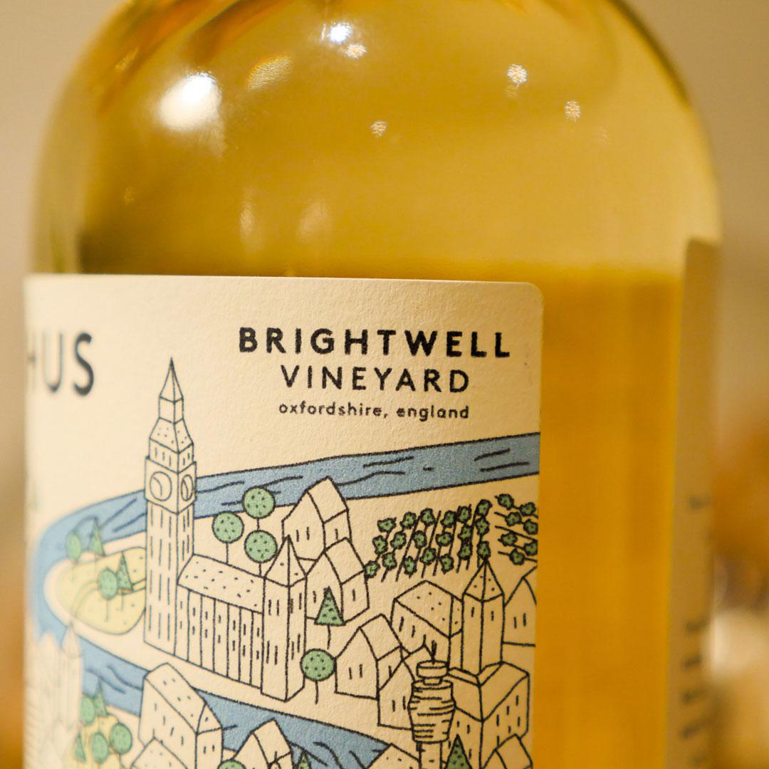 English Bacchus Wine