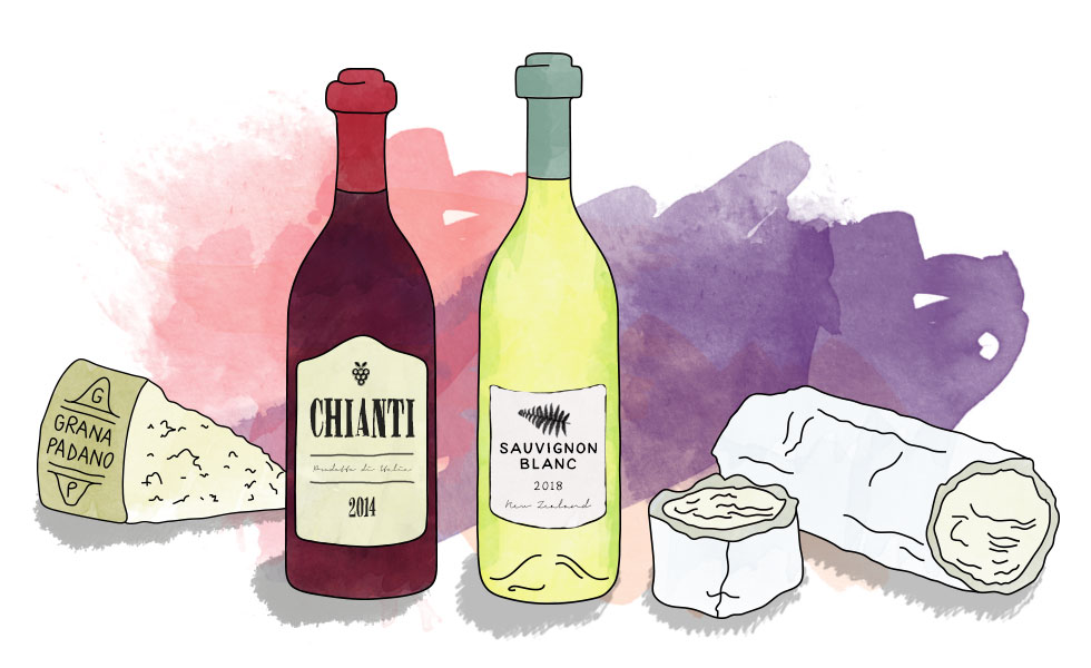 The perfect wine and cheese pairings