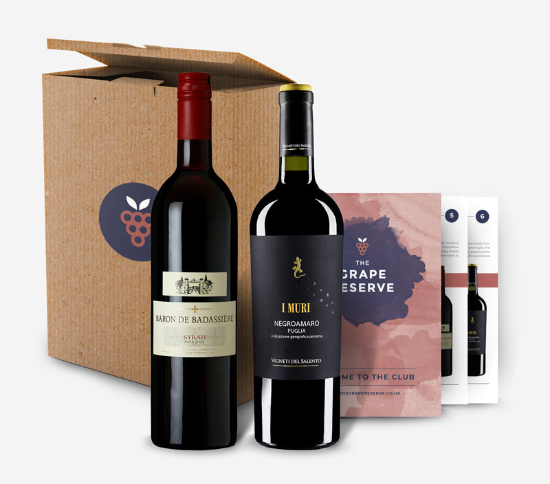 Monthly Wine Subscription Gift